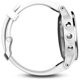 Garmin fenix 5S Montre GPS multisport avec bracelet blanc, grey
